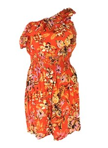 As U Wish short dress Orange on Tradesy