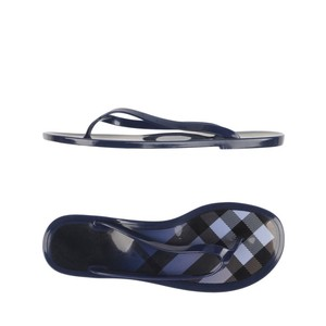 Burberry blue white black Sandals