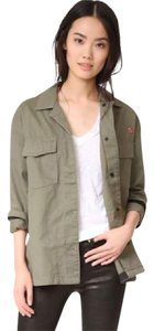 Rag & Bone Irving Embroidered Army Military Spring Military Jacket