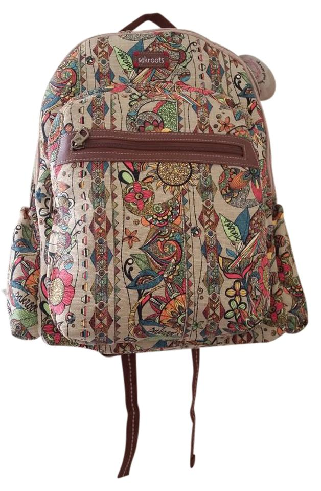 6c6051c8b Sakroots Bright Canvas Print Faux Leather Polyester Backpack Image 0 ...