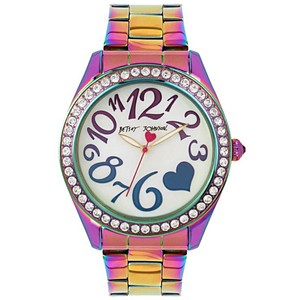Betsey Johnson Betsey Johnson Rainbow Watch