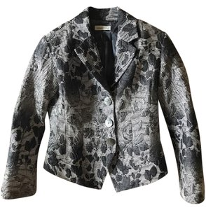 Coldwater Creek Black and White Jacket