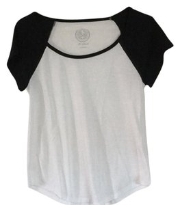 SO T Shirt White with Black sleeves