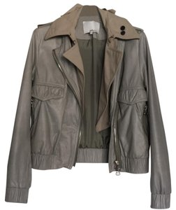 3.1 Phillip Lim Unique neutral, tan Leather Jacket