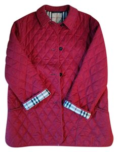 Burberry Quilted London Nova Red Jacket