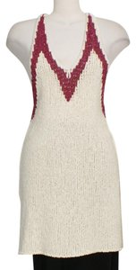 Free People Top Ivory Berry