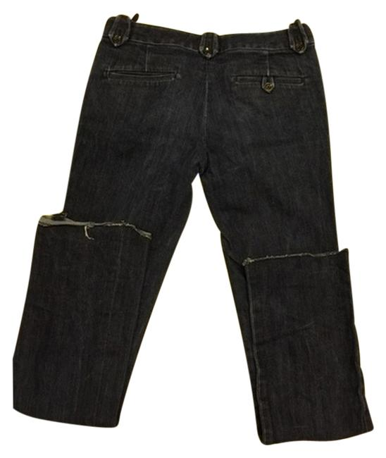 Rag & Bone Dark Straight Leg Trendy 28 Boot Cut Jeans-Dark Rinse