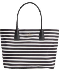 Kate Spade Catie Catie Tote in Black/cream