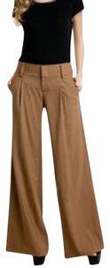 Alice + Olivia Flare Pants Tan