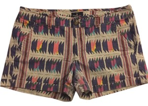 American Eagle Outfitters Midi Colorful Cuffed Shorts Grey