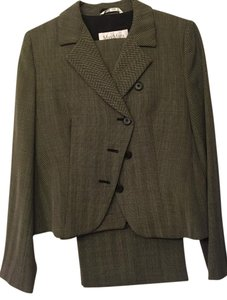 Max Mara Max Mara Gray Striped Suit