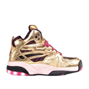LA Gear Gold And Pink Athletic