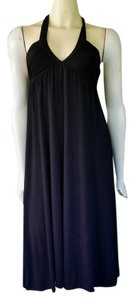 Michael Stars short dress Black Halter Jersey on Tradesy