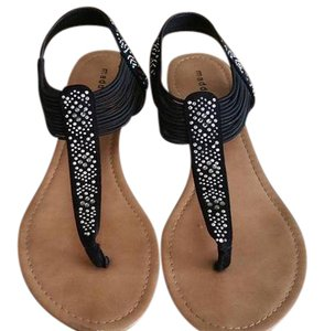 Madden Girl Black with stones Sandals