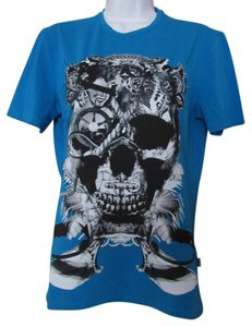 Just Cavalli T Shirt Blue