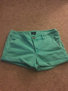 American Eagle Outfitters Midi Shorts Turquoise