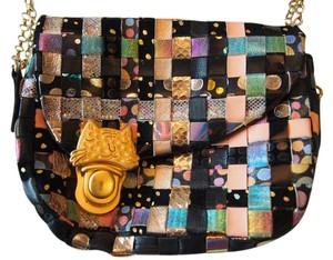Tsumori Chisato Japanese Woven Clutch Cat Shoulder Bag