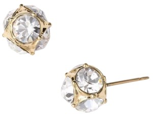 Kate Spade Lady Marmalade Rhinestone Ball Stud Earrings