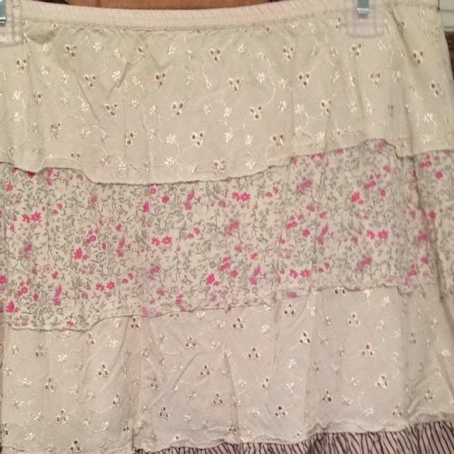 No Boundaries Skirt Cream And Floral