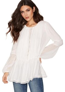 Free People Top Ivory/White