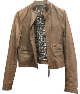 Joie Brown, Grey Leather Jacket