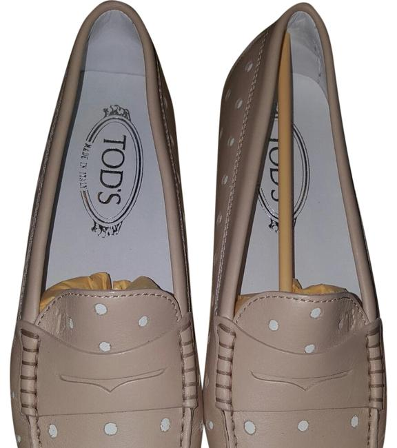 Item - Pale Pink Perforated Loafer Flats Size US 6 Regular (M, B)