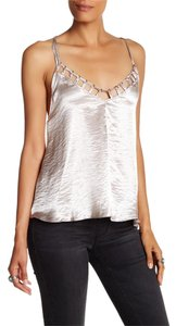 Free People Top Silver/gray