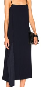blue Maxi Dress by Helmut Lang