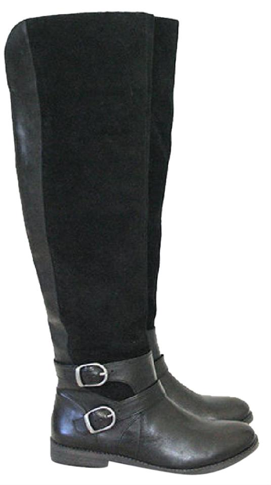 9c0b008138b Lucky Brand Riding Equestrian Over The Knee Knee High black Boots Image 0  ...