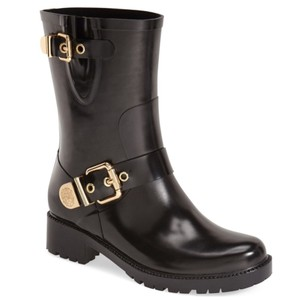 Vince Camuto black gold Boots