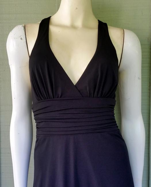Laundry Cross Ruched Cocktail Dress