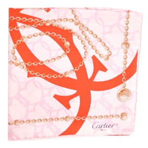 Cartier NEW silk scarf
