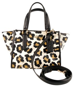 Coach Ocelot Animal Print Cross Body Bag