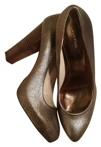 Calvin Klein Gold/Bronze Pumps