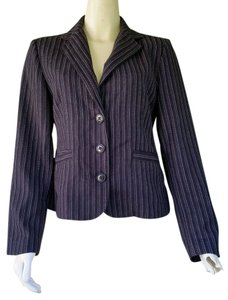 CAbi Blaker Striped Black Blazer