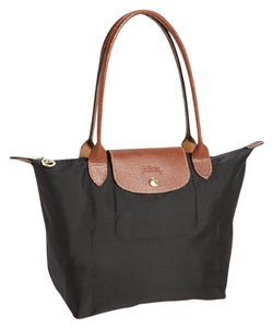 Longchamp Nylon Commuting Gym Tote in Black