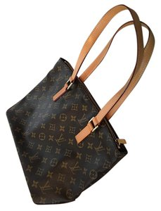 Louis Vuitton Cabas Piano Canvas Satchels Tote in Monogram