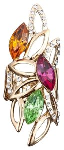 Other Swarovski Crystal Large Statement Ring DF101