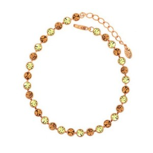 Other Swarovski Crystal Cognac Tennis Bracelet DF101