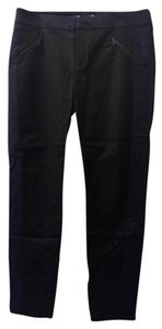 Rebecca Taylor Straight Pants Black and Navy