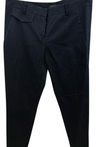 Theory Navy Nautical Casual Straight Pants