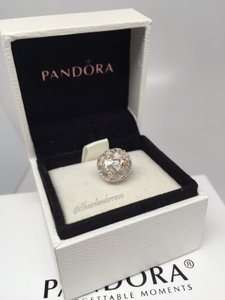 PANDORA Pandora Two tone 14kt Abundance of love charm in original gift pouch