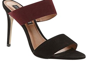 Steven by Steve Madden black & burgundy Formal