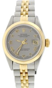 Rolex Rolex Datejust Ladies 2-Tone Silver Roman Dial 26MM Jubilee Watch