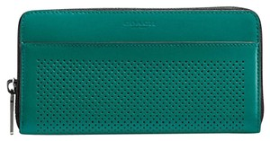 Coach 58104 Perforated Leather Accordion Wallet