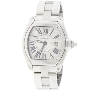 Cartier Cartier Roadster Small Silver Sunray Roman Dial 30mm Watch W62016V3