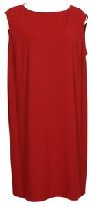 Eileen Fisher short dress Red on Tradesy