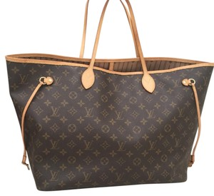 Louis Vuitton Monogram Neverfull Gm Neverfull Gm Gm Tote