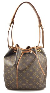Louis Vuitton Monogram Canvas Leather Noe Shoulder Bag