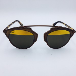 Dior Dior Matte Bronze and Tortoise So Real Collection Sunglasses RJKEB 48